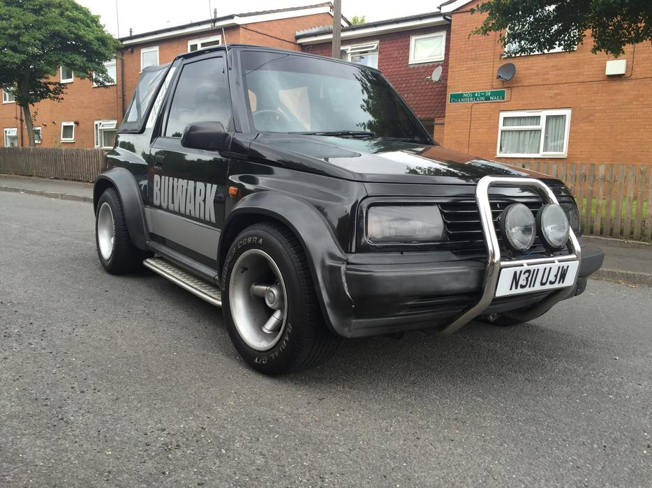 1996 n suzuki vitara fatboy sport convertible smethwick birmingham. Black Bedroom Furniture Sets. Home Design Ideas