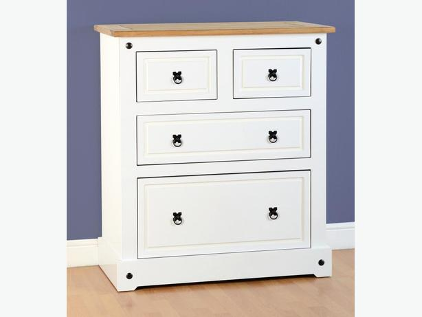corona bedroom furniture in white