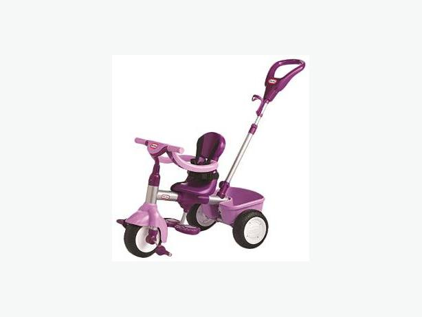 little tikes purple trike