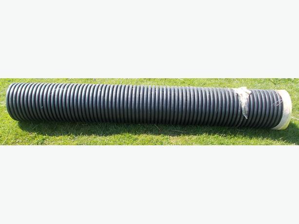 Plastic Drainage Pipe 2.4m x 30cm Internal and 193cm x 22cm Internal