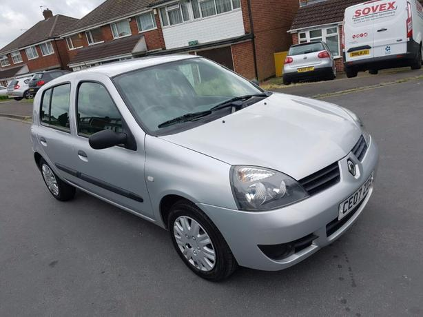renault clio campus 1 2 2007 long mot dudley wolverhampton. Black Bedroom Furniture Sets. Home Design Ideas