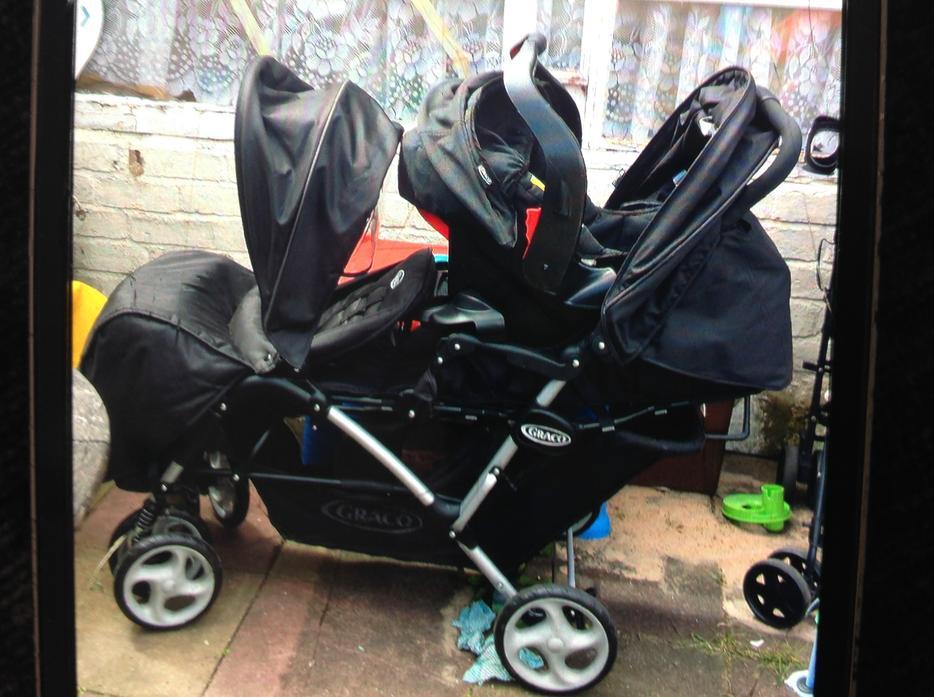 graco double pram car seat 100 rowley regis wolverhampton. Black Bedroom Furniture Sets. Home Design Ideas