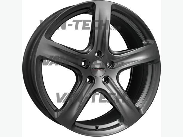 Calibre Tourer 20″ Alloy Wheels in Gun Metal for VW T5 Van
