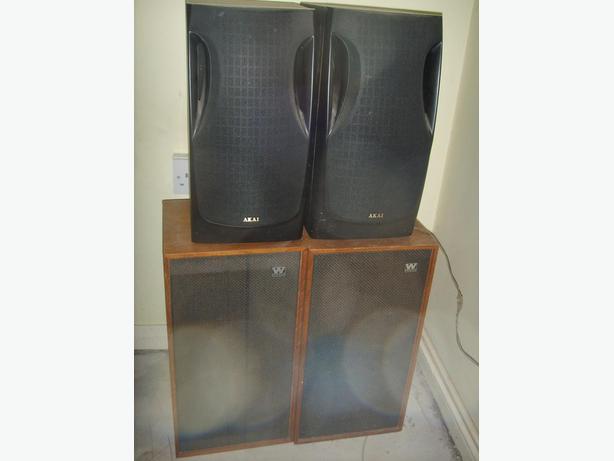 speakers x4