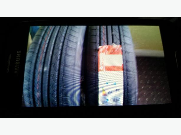 two tyres brand new