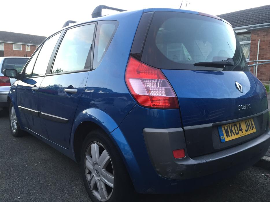 renault megane scenic 1 6 16v clean car 2004 stourbridge dudley mobile. Black Bedroom Furniture Sets. Home Design Ideas