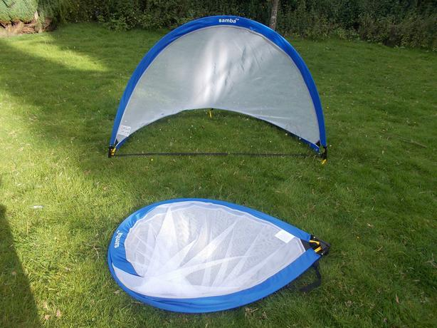 Samba Pair 6ft Round Elite Pop Up Goals PUG1080