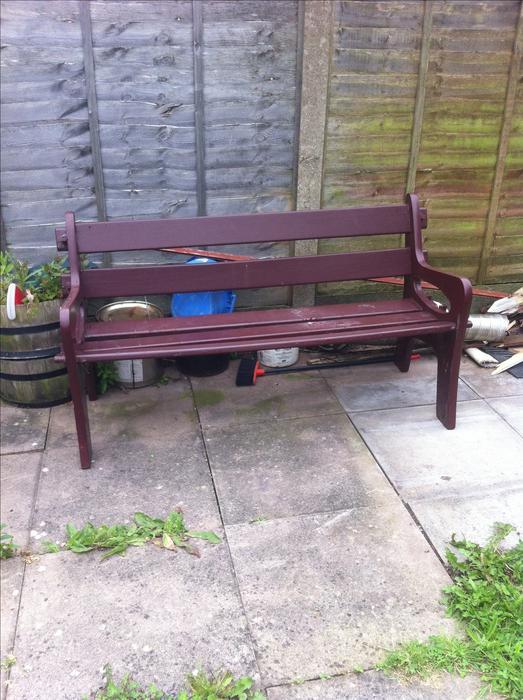 solid wood garden bench darlaston wolverhampton