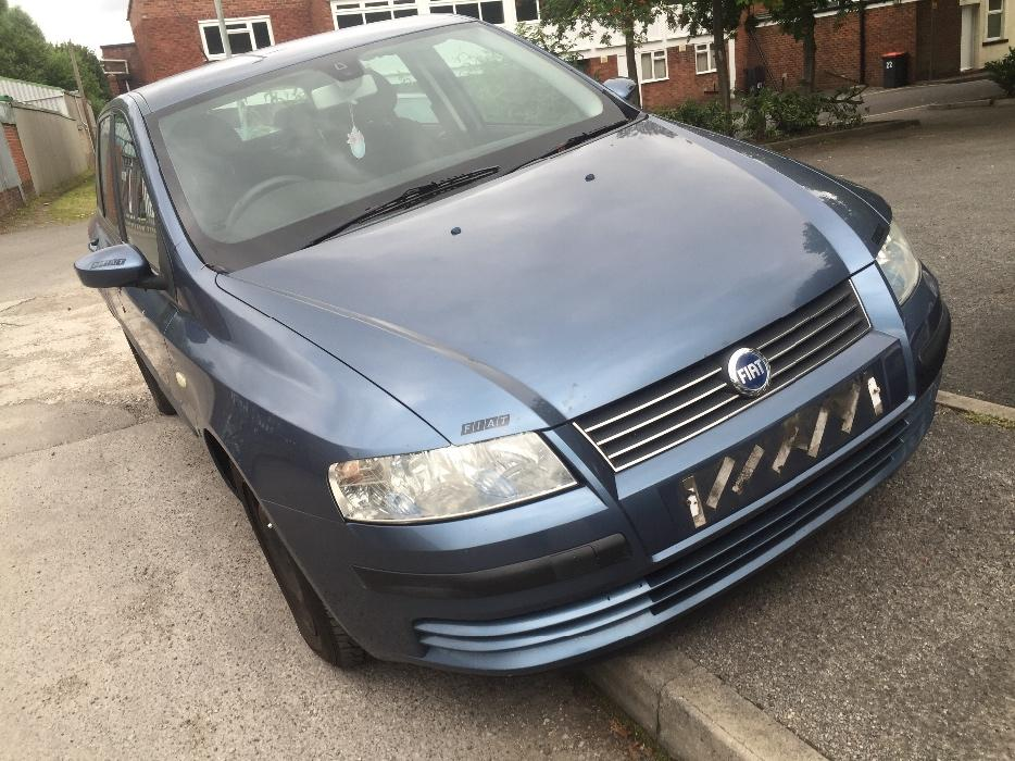 fiat stilo 2003 1 9 turbo diesel mot april 2017 v5 2 issues spares repairs wolverhampton. Black Bedroom Furniture Sets. Home Design Ideas