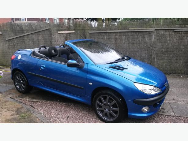 2001 peugeot 206cc dudley dudley mobile. Black Bedroom Furniture Sets. Home Design Ideas