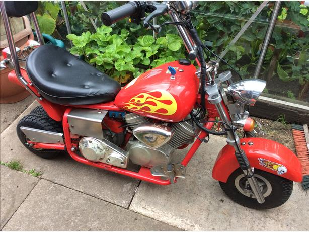 50cc mini chopper minimoto pitbike brierley hill. Black Bedroom Furniture Sets. Home Design Ideas