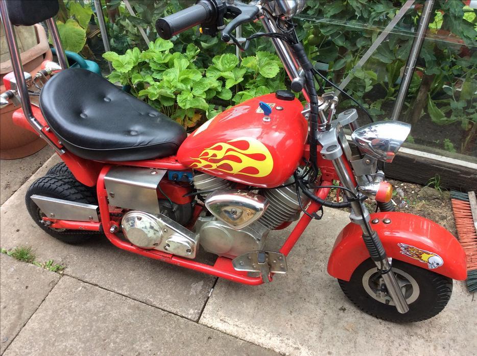 50cc mini chopper minimoto pitbike brierley hill dudley. Black Bedroom Furniture Sets. Home Design Ideas