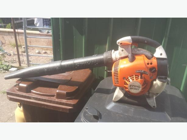 stihl blower & hover