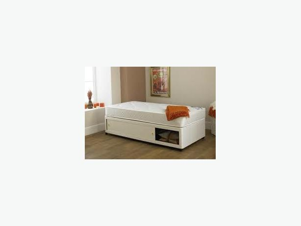SINGLE BED BASE WITH SLIDER DRAW