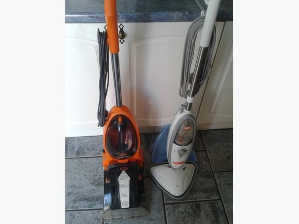 vax carpet cleaner and vax steam cleaner
