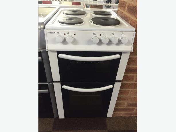 BUSH ELECTRIC DOUBLE CAVITY COOKER WITH GUARANTEE 50 CM WIDE