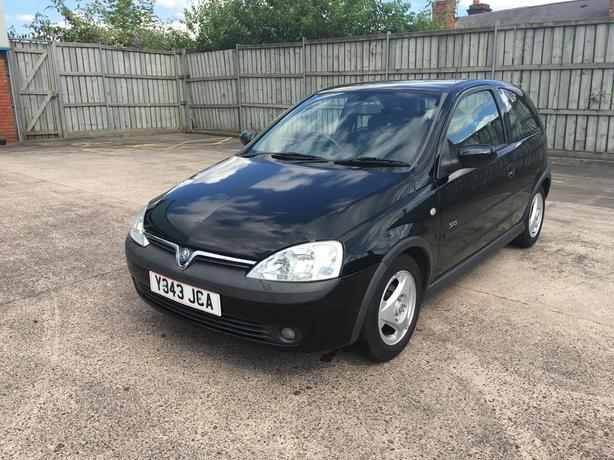 Automatic Vauxhall Corsa 1.2 SXi model, good condition