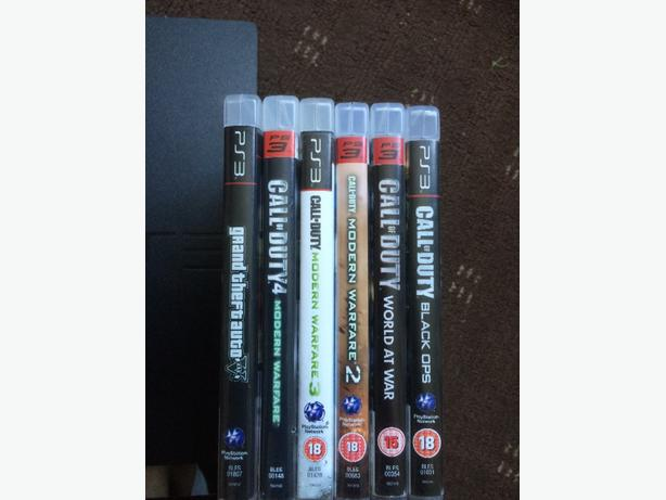 PS3 + 6games