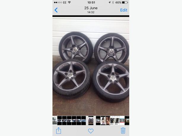 astra alloy wheels