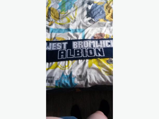 westbrom scarf for real fans