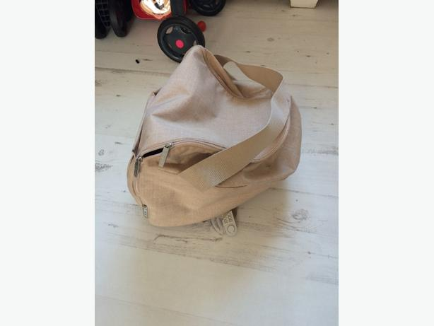stokke beige melange shopper bag