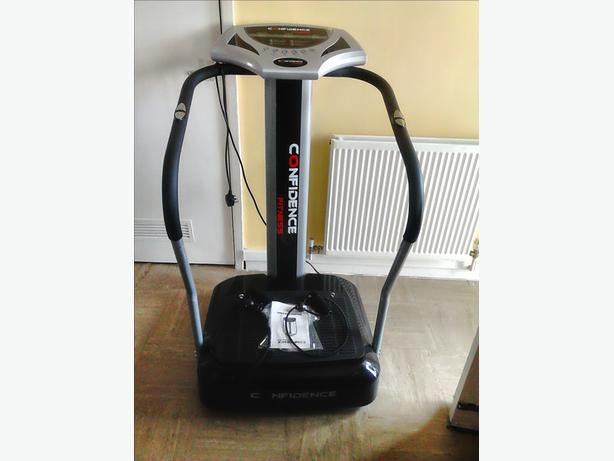 confidence fitness vibration plate instructions