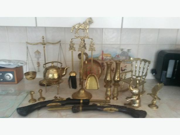 large collection if brass