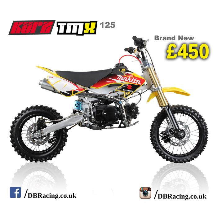 Kurz Tmx 125cc Off Road Pit Bike 74cm Seat Height Pitbike