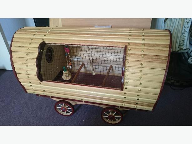 caravan bird cage