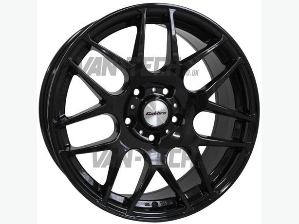 Calibre Exile 20″ Alloy Wheels Gloss Black VW T5 Van