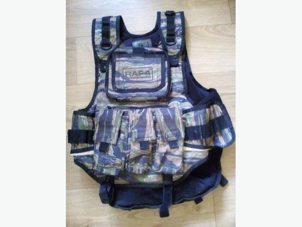 rap 4 paint ball vest