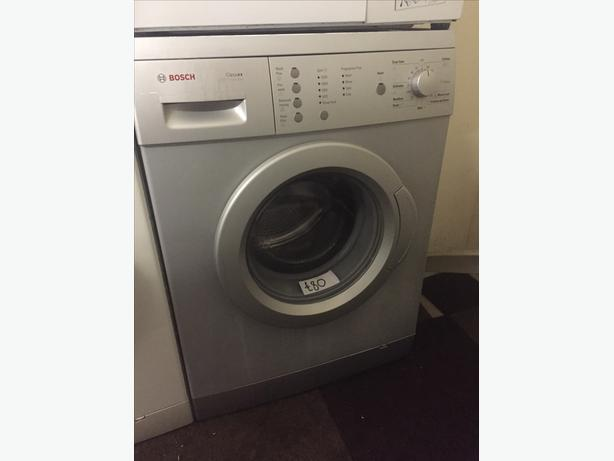 BOSCH SILVER WASHING MACHINE WITH GUARANTEE/1200 SPIN