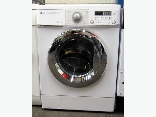 LG Washing Machine, Twin Fill, 7.5kg Capacity, 1600 Spin, 6 Month Warranty