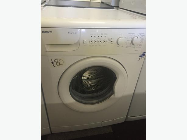 REDUCED TO CLEAR! BEKO WASHING MACHINE WITH GUARANTEE