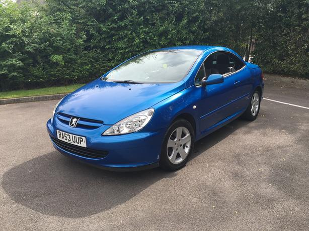 Peugeot 307 Convertible, very good condition in and out