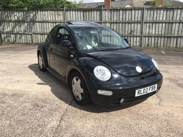 Automatic Volkswagen Beetle, heated cream leather seats, long mot low mileage