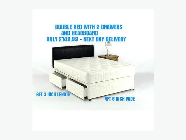 GOLD ORTHOPAEDIC DOUBLE BED
