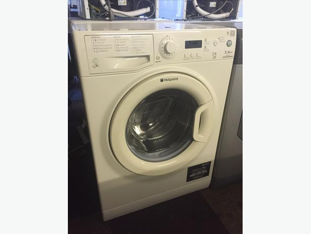 IMMACULATE VANILLA 7 KG LOAD HOTPOINT WASHING MACHINE WITH GUARANTEE
