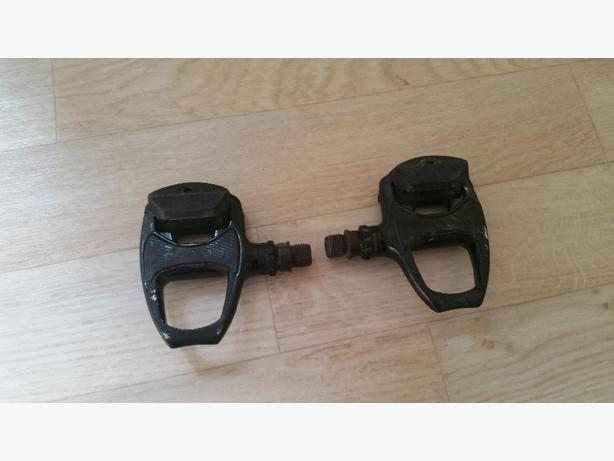 cycle pedals and shoes size 10.5