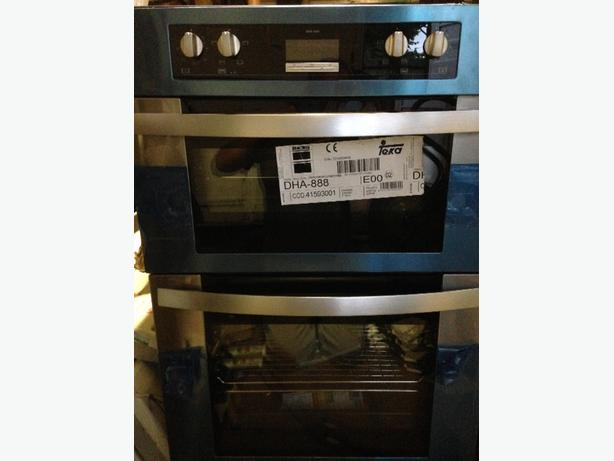 teka built in double oven