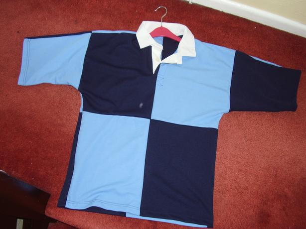 6 x ,brand new ,34/36 kids ,short sleevechest rugby shirts