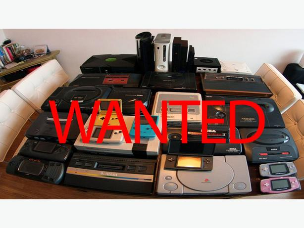 WANTED: Retro video games  and consoles