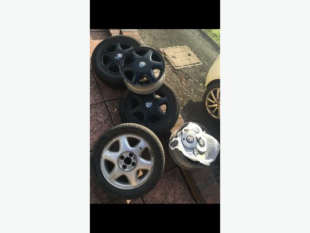 vauxhall alloy wheels X5 bargain