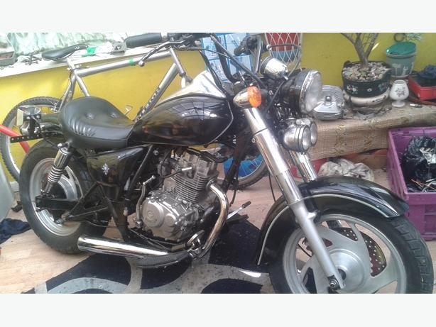 125 bobber swap bigger bike or monkeybike