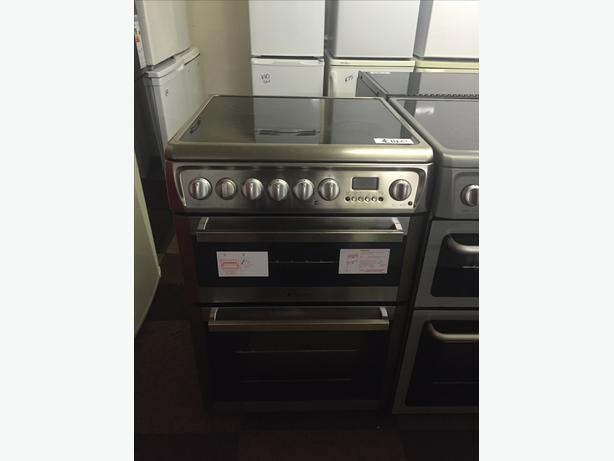 STAINLESS STEEL 60 CM WIDE ELECTRIC COOKER WITH GUARANTEE