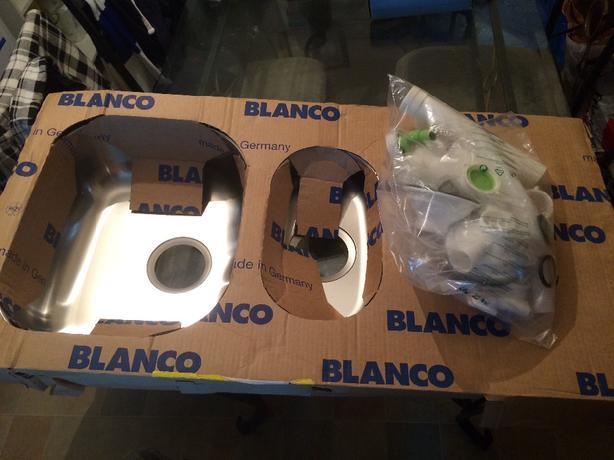 1&half bowl sink with waste