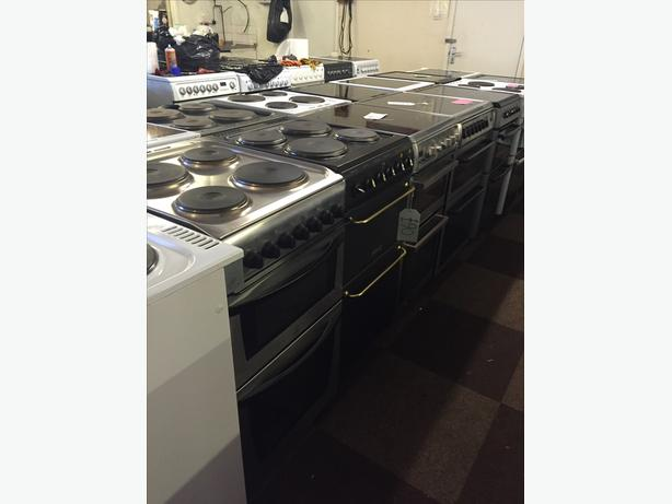 STARTING £75 ELECTRIC COOKERS ALL WITH GUARANTEE