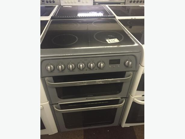 ELECTRIC COOKER CLEARANCE-60 CM HOTPOINT WITH GUARANTEE