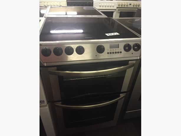 ELECTRIC COOKER CLEARANCE-60 CM SILVER HOTPOINT WITH GUARANTEE