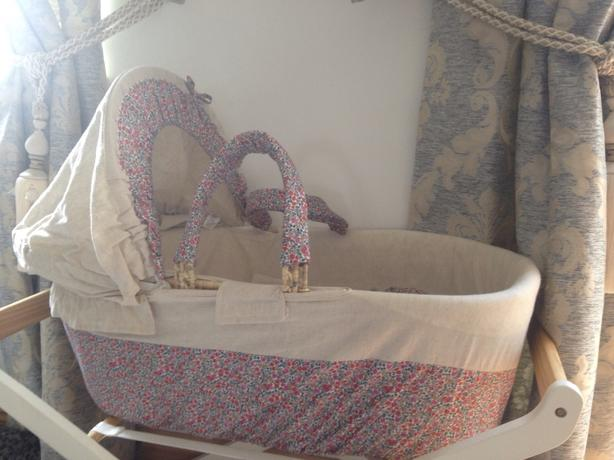 moses basket mamas and papas liberty